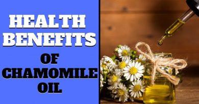 Health Benefits of Chamomile Oil