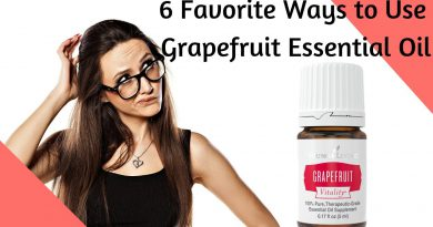 6 Favorite Ways to Use Grapefruit Essential Oil