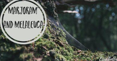 Essential Oil Marjoram & Melaleuca