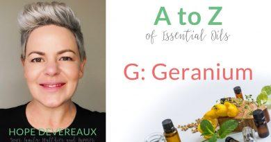 G: Geranium - doTERRA Essential Oil Uses and Benefits