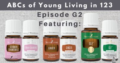 German Chamomile, Ginger, GLF essential oils & their Vitality Partners