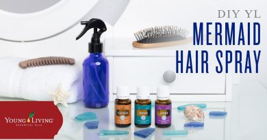How to Get Mermaid Hair with Young Living Essential Oils