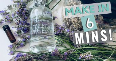 Making Homemade Lavender Essential Oil In The Microwave