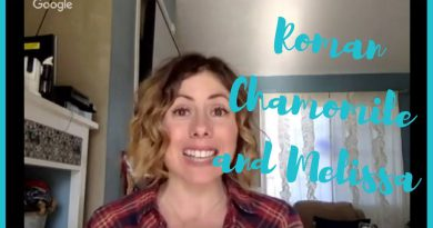 Product Talk Tuesday - Roman Chamomile and Melissa Essential Oils!