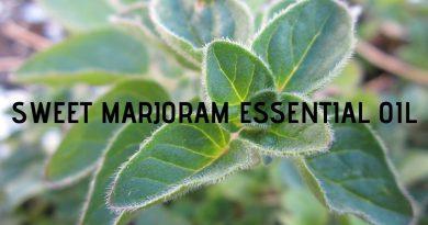 Sweet marjoram essential oil uses