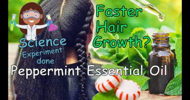 377. Rapid Hair Growth with Peppermint Essential Oil | UniquelyJames