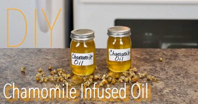 DIY Chamomile Infused Oil for Healthy Skin, Well-Being & Aromatherapy 🌿