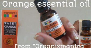 Orange essential oil   sweet orange citrus sinesis   unboxing sweet orange citrus sinesis