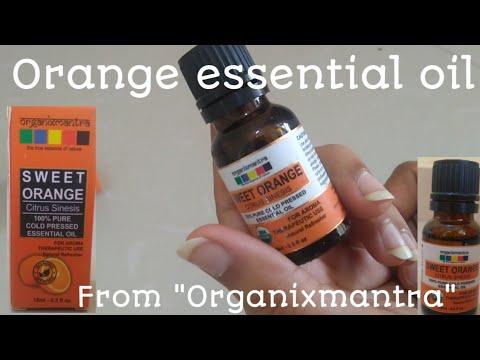 Orange essential oil | sweet orange citrus sinesis | unboxing sweet orange citrus sinesis