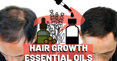 Top 3 Essential Oils For Hair Growth and Hair Loss