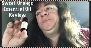 Natural Acres Sweet Orange Essential Oil Review