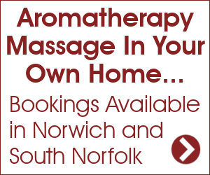 Aromatherapy Massage in Norwich and Norfolk