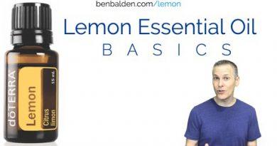 Lemon Essential Oil Basics