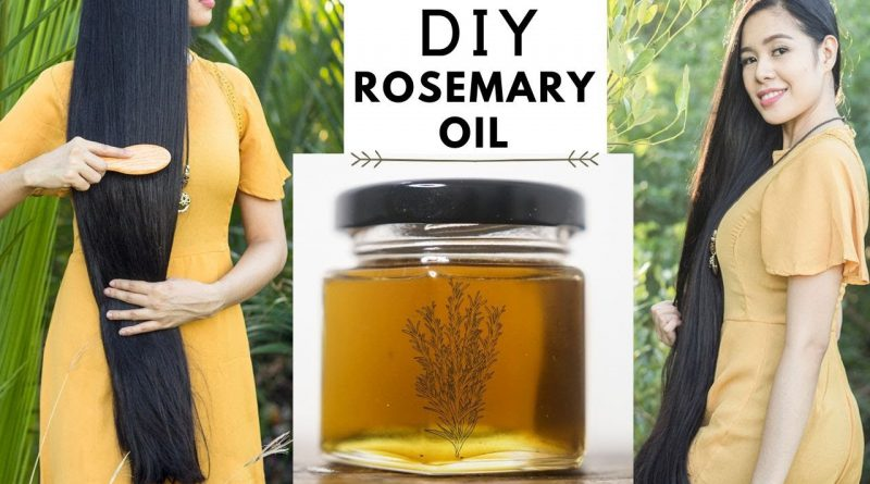 How To Make Rosemary Oil For Faster Hair Growth, Thicker Hair & Prevent Hair Loss -Beautyklove