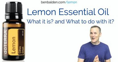 Lemon Essential Oil – What Is It and What Do You Do with It?