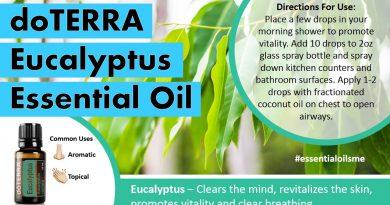 doTERRA Eucalyptus Essential Oil Uses