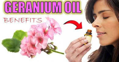 13 INCREDIBLE Geranium Oil Benefits - HAIR GROWTH, ACNE, FACE & SKIN | How To Make Geranium oil