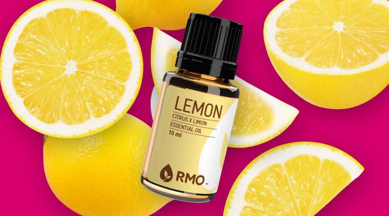 5 Reasons You'll LOVE Lemon Essential Oil!