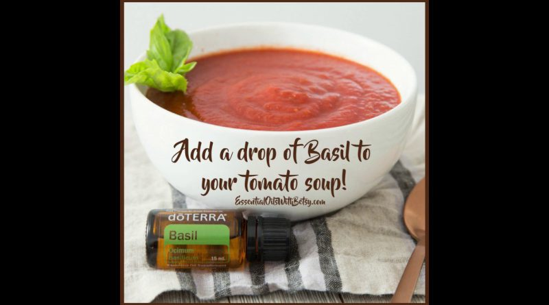 Basil Essential Oil Tips