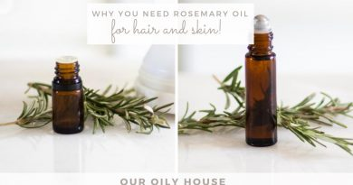 Benefits of Rosemary Essential Oil | Essential Oils for Hair Growth and Thickness