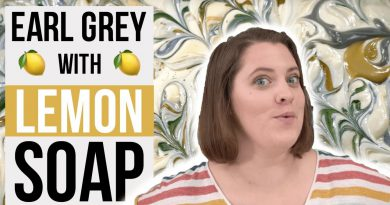 Earl Grey Tea with Lemon Essential Oil Cold Process Soap Making | Royalty Soaps