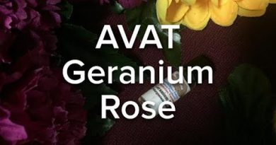 GERANIUM ROSE ESSENTIAL OIL REVIEW | APPALACHIAN VALLEY NATURAL PRODUCTS
