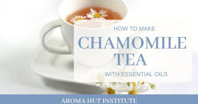 How To Make Chamomile Tea With Essential Oils (Cooking With Essential Oils)