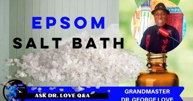 How to take an Epsom Salt Bath with Eucalyptus Essential Oil | Ask Dr. Love Q&A