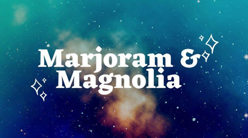 Marjoram & Magnoila Essential Oils