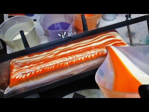 PATCHOULI ORANGE ESSENTIAL OIL COLD PROCESS SOAP MAKING VIDEO