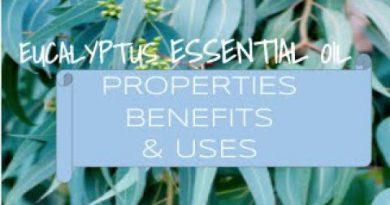 Eucalyptus Essential Oil - Benefits & Uses