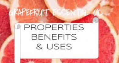 Grapefruit Essential Oil - Benefits & Uses