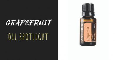 Grapefruit - doTERRA Essential Oil Spotlight