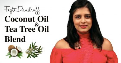 How To Get Rid of Dandruff by Using Coconut Oil & Tea Tree Essential Oil (DIY)