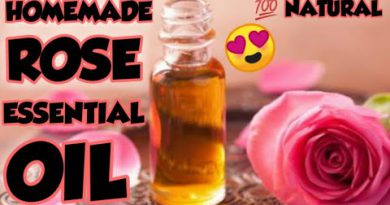 How to make Rose Essential oil at home/homemade Rose Essential oil/DIY Rose Essential oil/💯 Natural