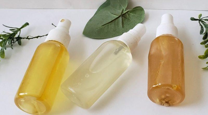 3 Essential Oil  Fragrance Body Mist Orange Tangerine Grapefruit/.    ronke beauty