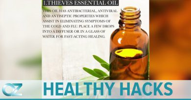 4 Essential Oils to Relieve a Cold - Dr  Oz's Healthy Hacks