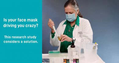 Aromatherapy for Masks