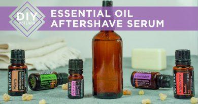 DIY doTERRA - Essential Oil Aftershave Serum
