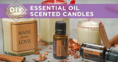 DIY doTERRA - Essential Oil Scented Candles