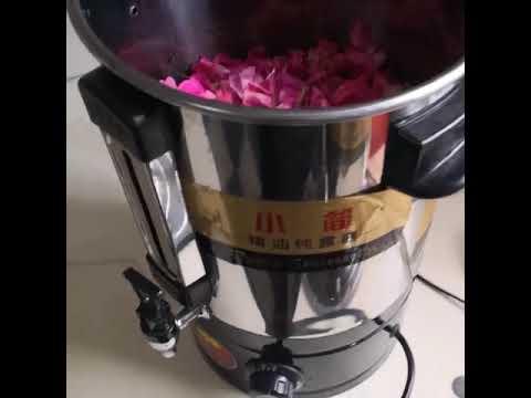 Rose Jasmine yellow magnolia Essential oil steam distillation machine