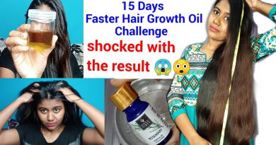 15 days hair growth challenge results & EXTREME Hair growth oil YOU WILL BE SHOCKED WITH THE RESULT😱