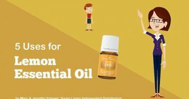 5 Uses for Lemon Essential Oil
